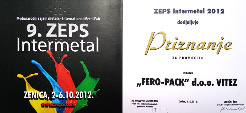 ZEPS-award-2012 Ferro-pack