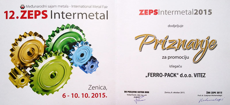 ZEPS-award-2015 Ferro pack