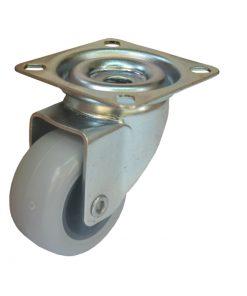 1190 – LIV kotač metalni okretni, sivi,Ferro-pack