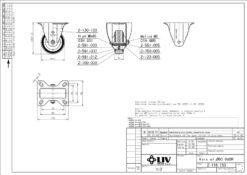 2192+LIV kotač metalni fiksni,Ferro-pack