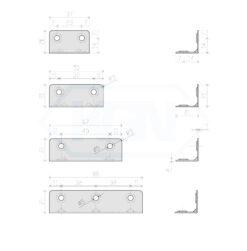 1110 - Kutnik 2 mm,21x21xL,Ferro-pack