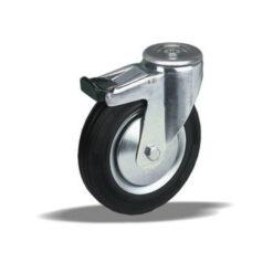 2210 LIV kotač metalni okretni sa rupom i kočnicom,Ferro-pack,Vitez,BiH