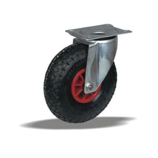 2220 LIV kotač za neravni teren sa plastičnom felugom, okretni, Ferro-pack,Vitez,BiH