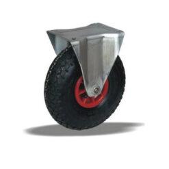 2222 LIV kotač za neravni teren sa plastičnom felugom, fiksni,Ferro-pack,Vitez,BiH