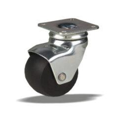 2224 LIV metalni kotač za namještaj fi 45 mm, sa pločicom, KG - 50,Ferro-pack,Vitez,BiH