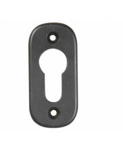 2360-Rozetna cilindra za metalna vrata, crna - par, IBFM,Ferro-pack