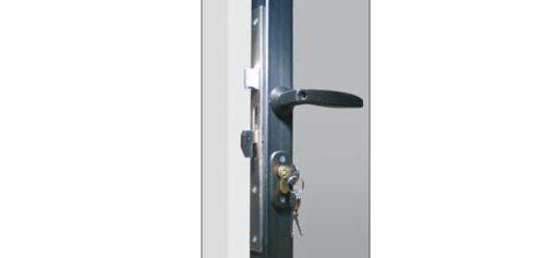 2370 ++ Brava za željezna vrata sa kukom i cilindrom 25 mm, IBFM,Ferro-pack