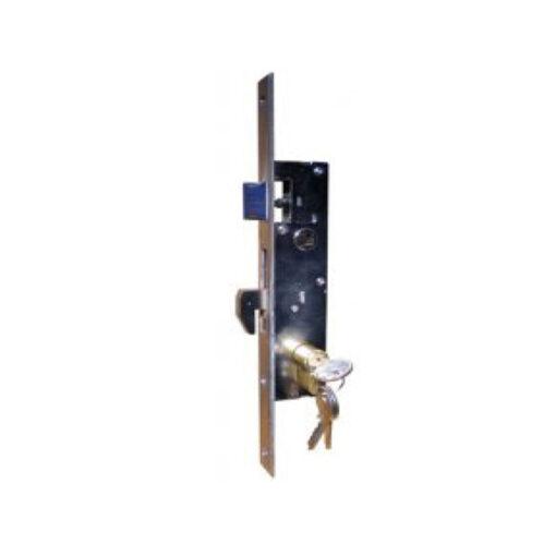 2370 Brava za željezna vrata sa kukom i cilindrom 25 mm, IBFM,Ferro-pack,Vitez,BiH