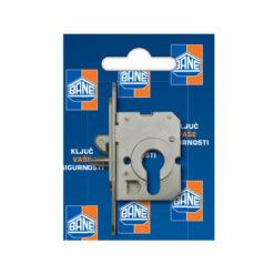 2385 Bravica za klizna vrata BANE, sa kljunom i klinom za cilindar Ferro-pack Vitez BiH