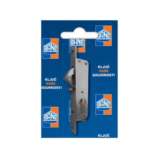2404 Brava za klizna vrata sa kljunom i trnom, 35 mm, - cilindar Ferro-pack Vitez BiH