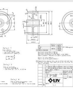 2533+LIV kotač temperaturno otporni,Ferro-pack
