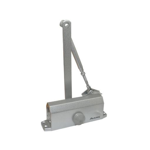 2546 Hidaulični zatvarač za vrata APECS - AVERS 55 kg, sivi,Ferro-pack