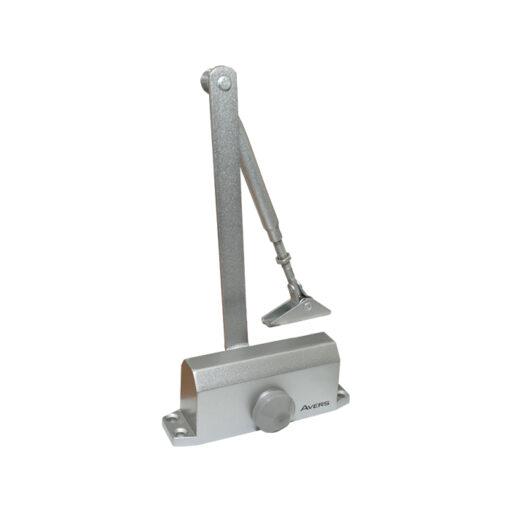 2548 Hidaulični zatvarač za vrata APECS - AVERS 45 kg, sivi,Ferro-pack