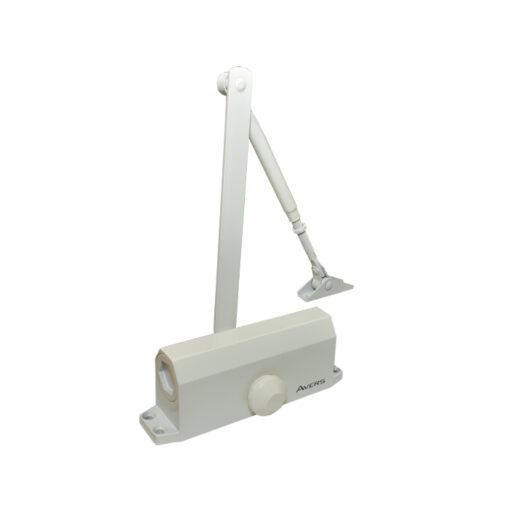2549 Hidaulični zatvarač za vrata APECS - AVERS 55 kg, bijeli,Ferro-pack