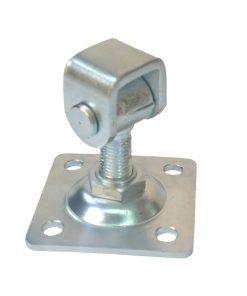 2568+++Regulirajuča baglama za teška vrata sa pločom (za zid),Ferro-pack