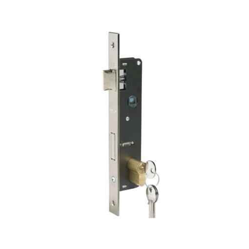 2588 Brava za metalna vrata sa jezičkom i cilindrom, 34 mm,Ferro-pack,Vitez,BiH