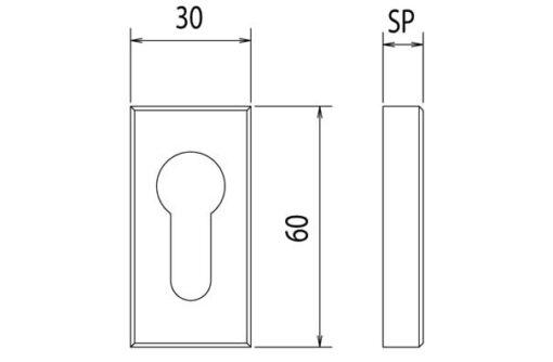 2596 +++ Čelično ojačanje - zaštita za cilindar 5 mm,Ferro-pack