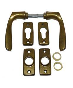 2624 Kvaka i rozetne za metalna vrata,F4, cilindar- TAS,Ferro-pack,Vitez,BiH