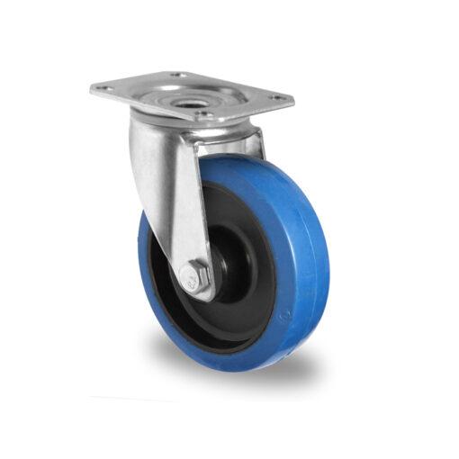 2639 CASCOO kotač okretni superelastic-plavi poliamid,Ferro-pack,Vitez,BiH