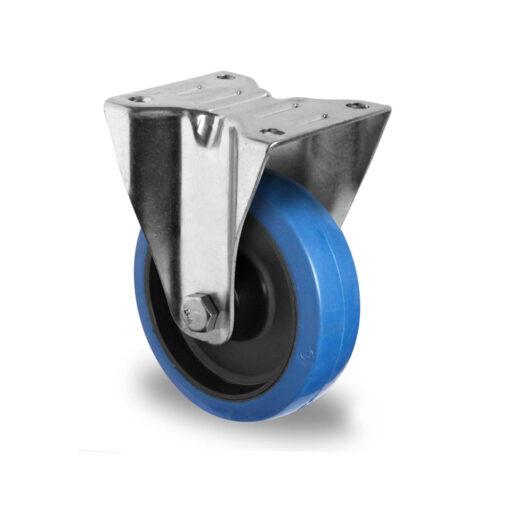 2640 CASCOO kotač fiksni superelastic-plavi poliamid