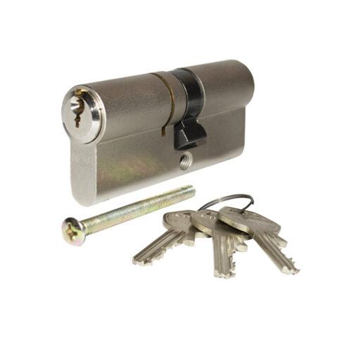 2671 ELZETT uložak za bravu GEGE pExtra, 30 x 35 mm, 3 klj. nikl satin,Ferro-pack