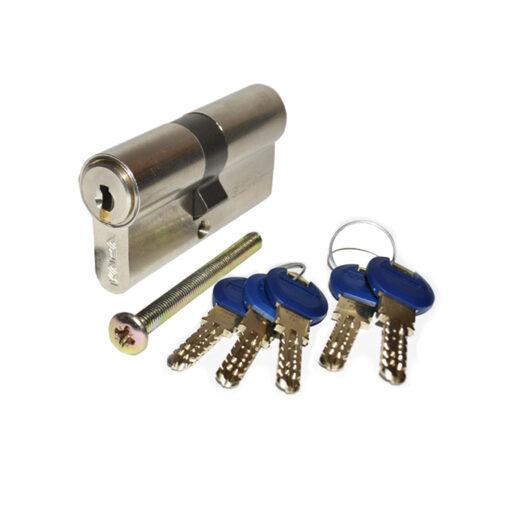 2676 ELZETT uložak za bravu KABA ExperT - 30 x 35 mm, 5 klj. nikl satin,Ferro-pack