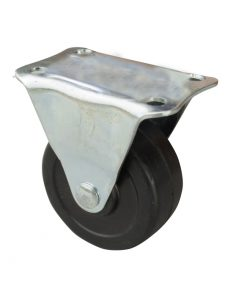 2730 - PVC kotač sa metalnom vilicom, 50 mm, KG - 30,Ferro-pack