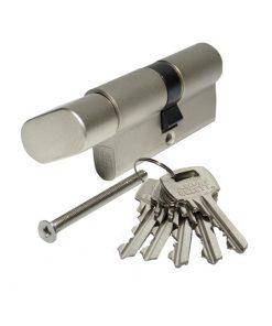 3192 ELZETT uložak za bravu sa ovalnom kuglom 756 30 x 30 mm, nikl (mala kugla),Ferro-pack