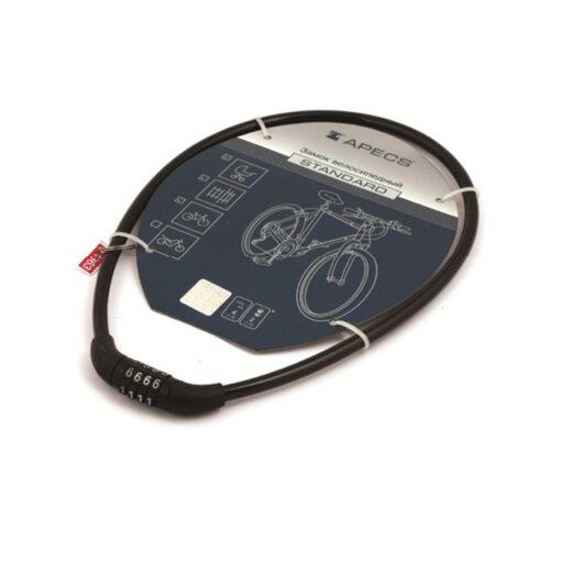 3256 Ključaonica APECS za bicikl, PD-82 sa kodom, 65 cm, automat Ferro-pack Vitez BiH
