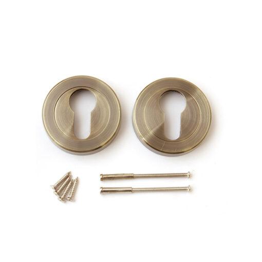 3308 Rozetna za cilindar APECS DP-C-04-AB, bronza boja Ferro-pack Vitez BiH