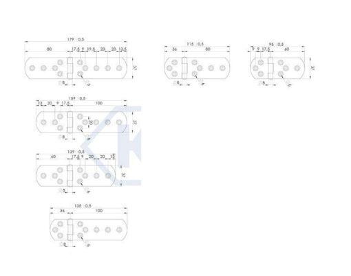 1134 - Baglama asimetrična,37xL-asimetricna,Ferro-pack