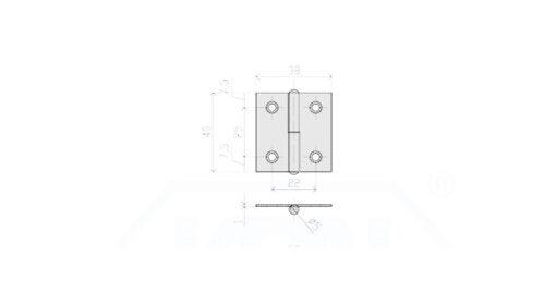 1141 - Baglama rastavljiva 40x38-L-in-40x38-,Ferro-pack