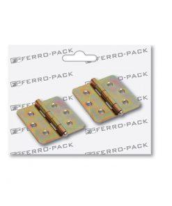P2041 - Baglama 60 x 60 x 1,5 mm žuta ; 2 kom,Ferro-pack