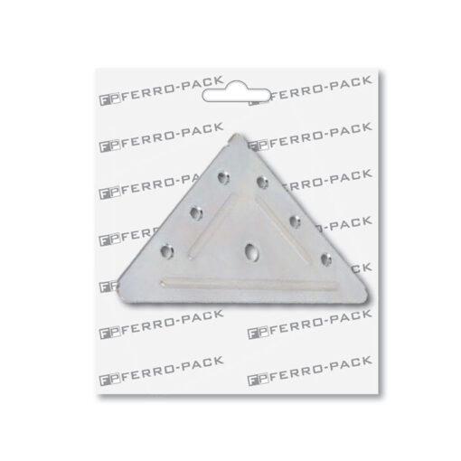 P2060 Nosač trokutni 110 x 110 x 1,5 mm ; 2 kom,Ferro-pack,Vitez,BiH