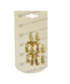 P2216 – Kukica za sliku-zidna, 10 kom + ekseriči, Ms,Ferro-pack