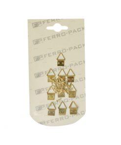 P2218 – Nosač slike trokutni, 10 kom + ekseriči, Ms,Ferro-pack