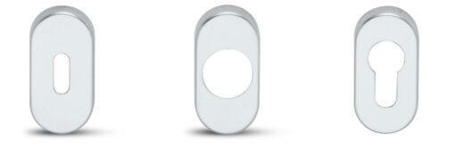 P2140 + Kvaka GO150 sa rozetama za metalna vrata - ključ F1