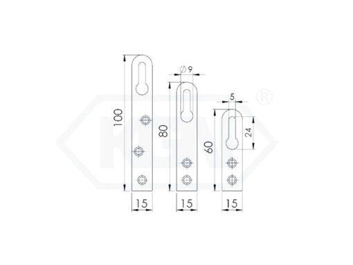 2656 - Zaskočna pločica za namještaj,plocica-nosilec,Ferro-pack