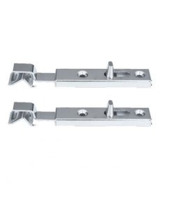 1157 Zatvarač za vrata, l - 70 mm, ravni, niklovani,Ferro-pack