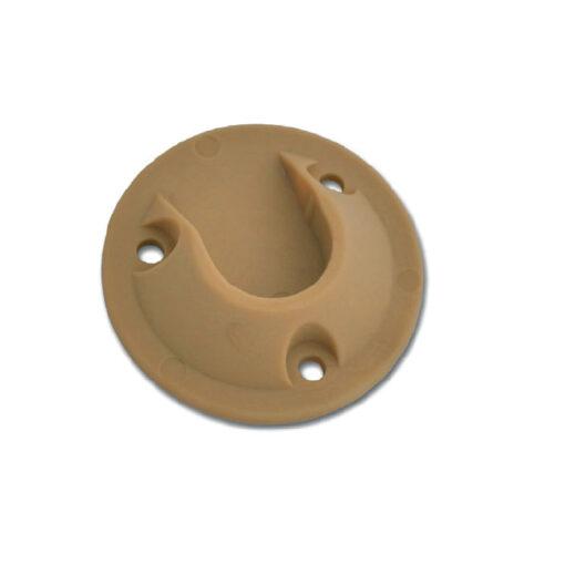 1165 PVC nosač šipke za oromar fi 18 mm braun,Ferro-pack