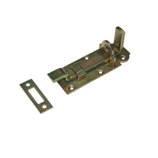 1283-Zasun za katanac 45 x 120 mm, krivi,Ferro-pack