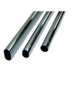 1720 Šipka za ormar 30 x 15 mm, l - 3000 mm - krom,Ferro-pack