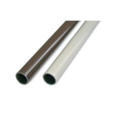 1721 Šipka za ormar fi 18 mm, l - 3000 mm plastificirana - bijela,Ferro-pack