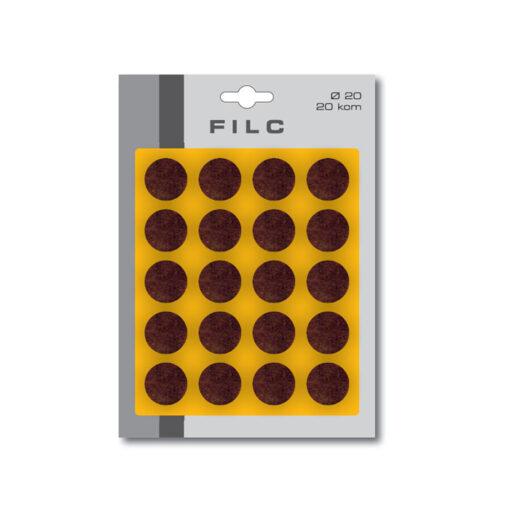 1794 Filc fi 20 mm x 20 kom,Ferro-pack