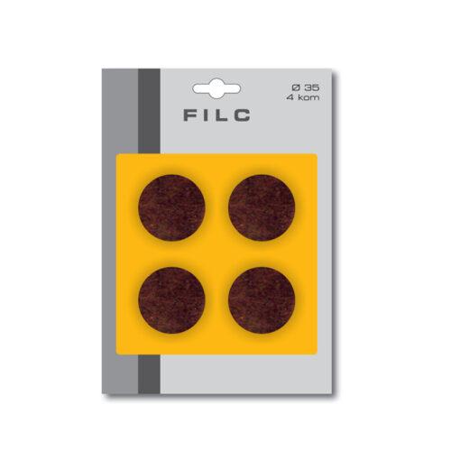 1800 Filc fi 35 mm x 4 kom, bijeli,Ferro-pack
