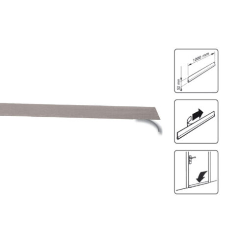 1814 Filc - traka za vrata, l - 100 cm, bijeli,Ferro-pack