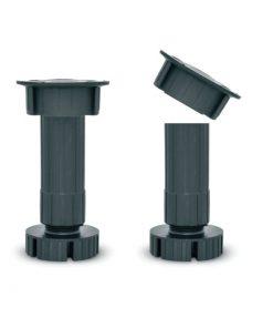 2026 Noga za kuhinjske elemente 100 mm -crna, EKO,Ferro-pack