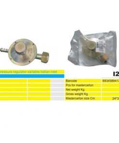 2032 + Plinski regulator 27 mm I200 (za bocu 12 kg),Ferro-pack