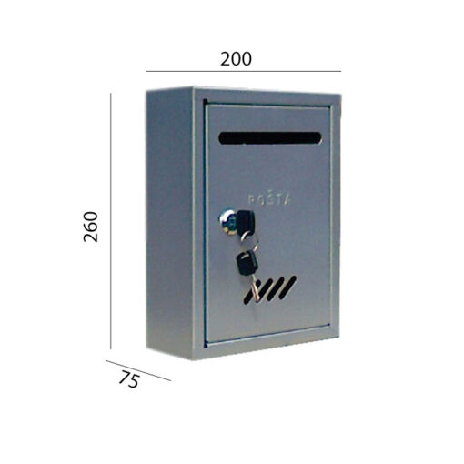 2048+Poštanski sandučić TIP 1 - kvadratni,Ferro-pack