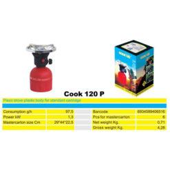 2171 + Plinsko kuhalo na kartušu COOK 120 P, sa upaljačem, ABS,Ferro-pack